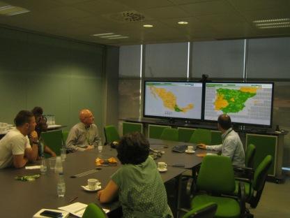 Visit to Iberdrola's Center of Control of Renewable Energies, in Toledo (SSEB 2016)