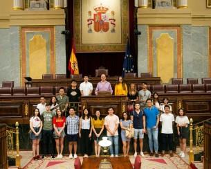 Visit to Congreso de los Diputados, Spain's Congress (SSEB 2018)