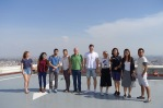 At the top of Picasso Tower, Deloitte headquarters (SSEB 2017)