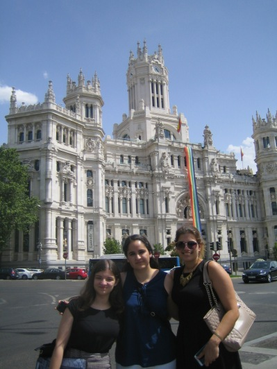 Visit to Madrid's City Hall (SSEB 2016)