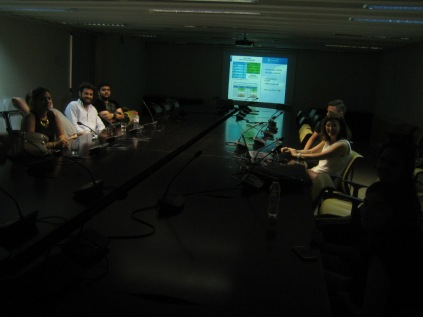 Visit to Madrid Government's General Directorate for Environmental Quality (SSEB 2016)