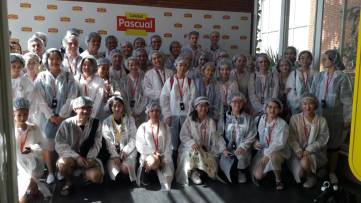Visit to Leche Pascual (SSEB 2018)